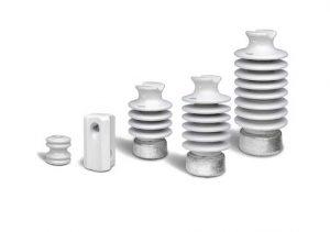 aisladores de porcelana ceramicos poinsa